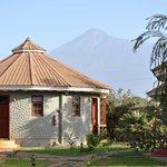 Il Planet Lodge ed il Mt. Meru.