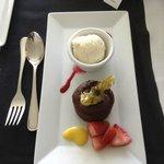 room service dessert