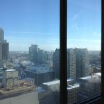 view of Montreal from room