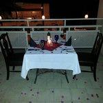 in room private dinner