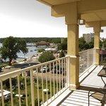 Lakeside Balcony View