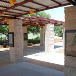 Visitors will find informational exhibits in the center & on the trail.Photo by Wallace Craig