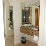 Master bedroom sink area
