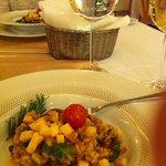 Abendessen im Hotel Antunovic mit sehr bemühtem Personal