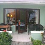 Greek Honeymoon Beachfront walk out concierge suite