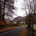From the Borrowdale Road. Kings How in the background.