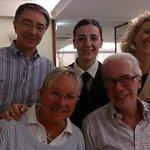 Alberto e Mariella con Valerio, Marisa e Nadia