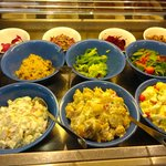 Some of our yummy, homemade salads