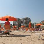 Пляж, прикрепленный к отелю