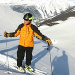 Heli-ski guide - the coolest job in the world!