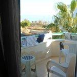 balcony overlloking sea