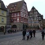 Marktplatz... la place principale de la ville, fin décembre