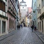 Georgengasse... une rue typique de la ville...