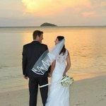 Sunset Wedding Pic's