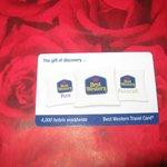 Travel-card per una o piu'notti  per gli hotel BW