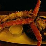 Crab leg delight