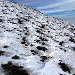 snow on Etna- January 2014