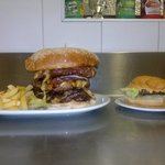 big foot burger