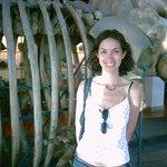 Esqueleto de ballena del Aquarium de Donosti