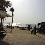 Mina A'Salam beach in the evening