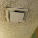 Dusty AC ceiling outlet