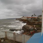 View from seaside decks