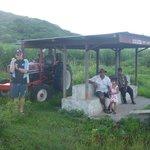 Bus stops on the way from Nadi to Rakiraki