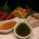 seared sashimi sampler