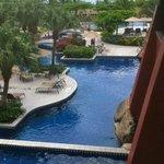 Wonderful meandering pool