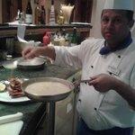 Lobster promotion At Olivio's restaurant