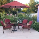 Relax on your private patio!