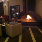 Open Fire in Bar