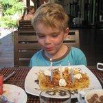 l'anniversaire de notre fils