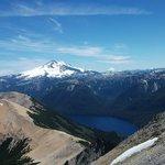 Vista del Tronador desde el pico