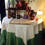 Lobby Menu Table (Taken 2-3-14)