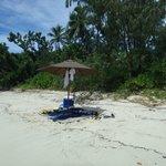 Champagne Beach ...