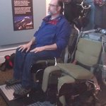 Ejection seats to watch a video