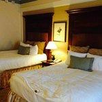 lo mejor del hotel: sus camas