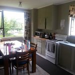 Lovely dining room and kitchen