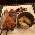 Bone Marrow, Carnitas, Fried Chicken and Kipfler Potatoes