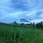 le volcan Sumbing