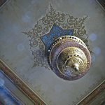 ceiling and light fitting