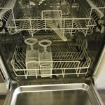 Full dishwasher - again, spotless!