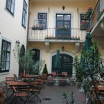 Courtyard, Hotel Wollner