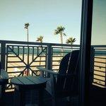 Oceanfront view room.