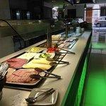 Breakfast line Rocca Netuno/ Aquis Rocca Suites December 2013