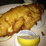 Famous Fried Haddock fish