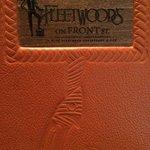 Fleetwood's menu