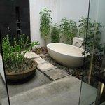 Park Villa outdoor shower/tub