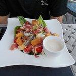 Caesar salad- it was ok.